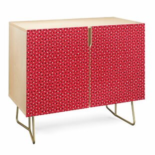 Ninola Christmas Snow Dots Accent Cabinet by East Urban Home