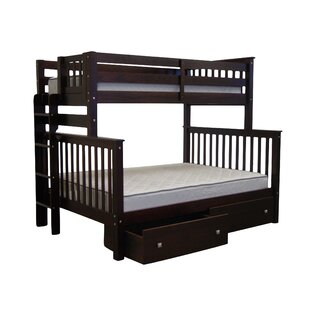 Best Price Treva Twin over Full Bunk Bed with Storage by Harriet Bee Reviews (2019) & Buyer's Guide