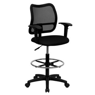 Mid-Back Mesh Drafting Chair by Offex Best Choices