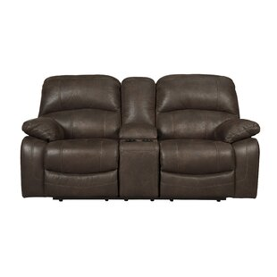 Lindo Glider Reclining Sofa Red Barrel Studio
