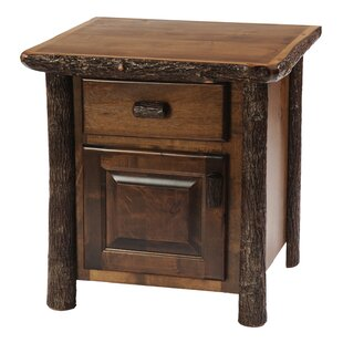 Fireside Lodge Hickory 1 Drawer Nightstand
