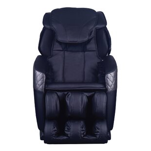 Leather Reclining Full Body Massage Chair by Symple Stuff