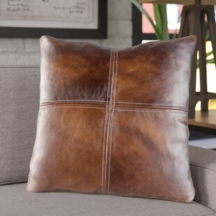 Leather Suede Pillows