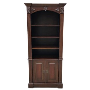 Rametta Carved Half Open 2 Door Accent Cabinet by Astoria Grand