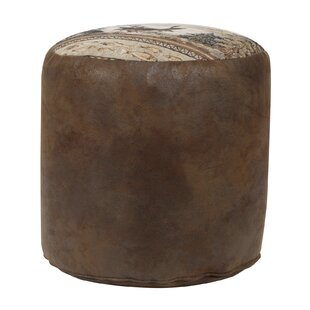 Severine Tapestry Pouf by Millwood Pines