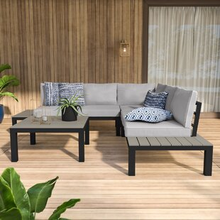 Claunch 4 Piece Sectional Set