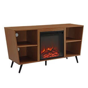 Affordable Demoss TV Stand for TVs up to 55 with Fireplace by Wrought Studio Reviews (2019) & Buyer's Guide