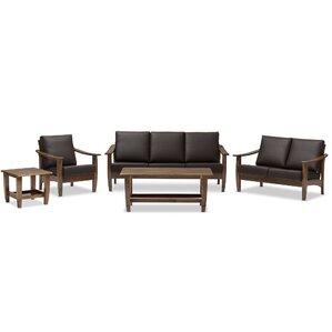 Ahart 5 Piece Living Room Set by Latitude Run