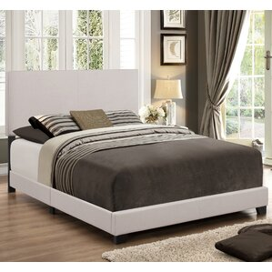 newport upholstered panel bed