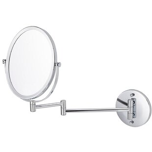 Compare Basting Wall Mounted Magnifying Shaving Mirror By Orren Ellis