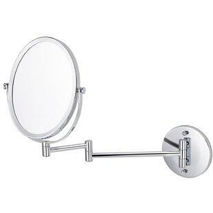 Reviews Basting Wall Mounted Magnifying Shaving Mirror ByOrren Ellis