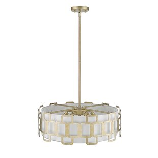 Ove Decors Elizabeth II 6-Light Drum Pendant