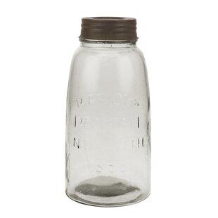 large mason storage jar with rust lid - Large Glass Jars With Lids