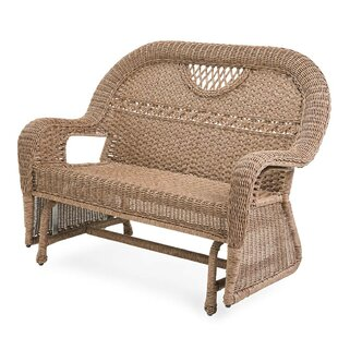 Prospect Hill Wicker Loveseat by Plow & Hearth