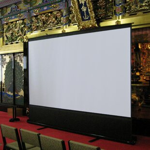 Find ezCinema White 60 diagonal Portable Projection Screen By Elite Screens