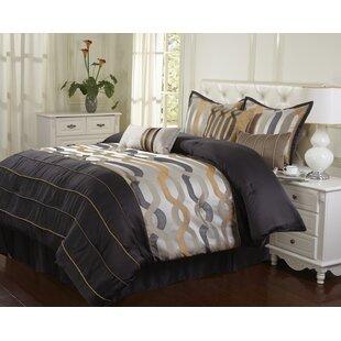 Nanshing America, Inc Rockford 7 Piece Comforter Set