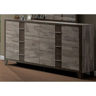 Rodrigues Melamine 6 Double Dresser by Union Rustic