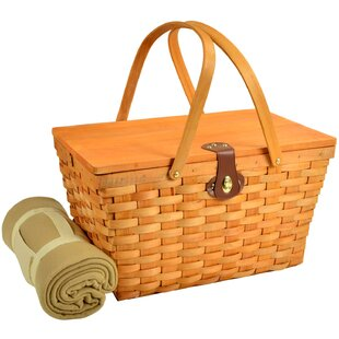 Settler American Style Picnic Basket with Blanket
