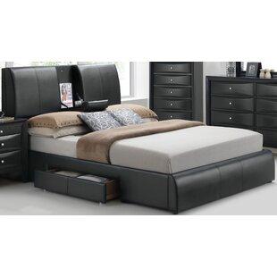 Dickinson Upholstered Low Profile Storage Platform Bed by Orren Ellis