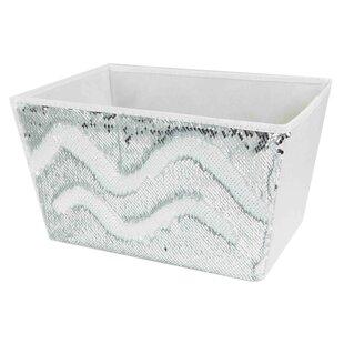 Price comparison Sequin Storage Bin By Home Basics