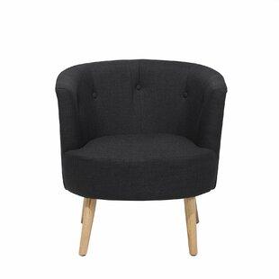 Gracie Oaks Shine Barrel Chair