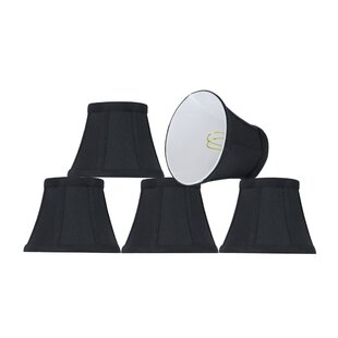 Modern Clip On 5'' Fabric Bell Lamp Shade (Set of 5)