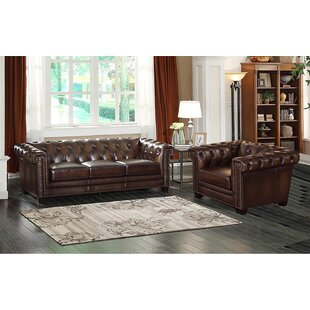 17 Stories Marcello 2 Piece Living Room Set