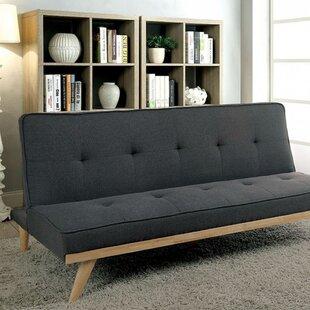 Rapier Futon Convertible Sofa ByLatitude Run