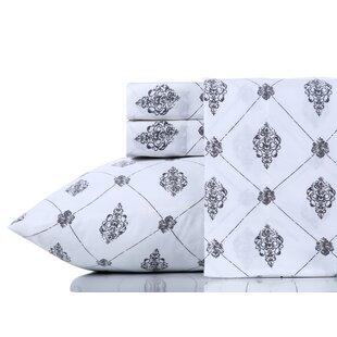 Breesha Pure 200 Thread Count 100% Cotton Sheet Set