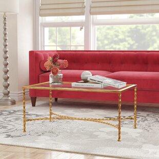 Reynaldo Glass Top Coffee Table