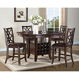 Sherborne 5 Piece Pub Table Set by Fleur De Lis Living