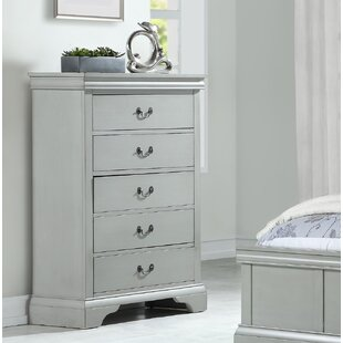 Cinda 5 Drawer Chest by DarHome Co