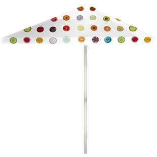 6' Square Market Umbrella by Best of Times Great Reviews