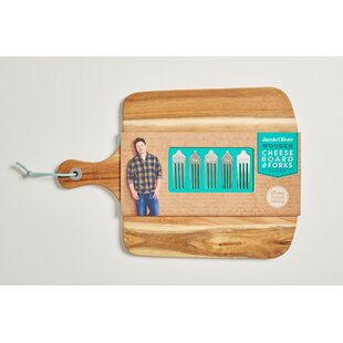 6 Piece Cheeseboard Set by Jamie Oliver