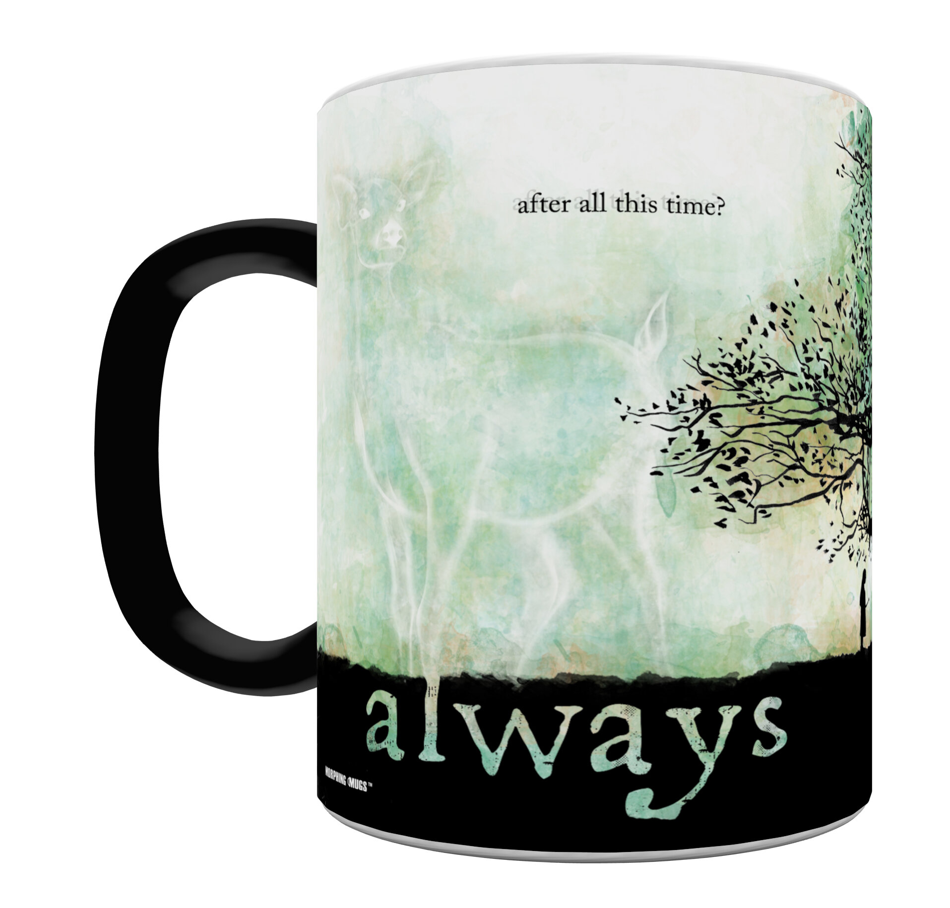 Harry Potter Snape Always Heat Sensitive Coffee Mug