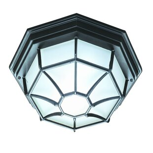 Affordable Hickmon 2-Light Flush Mount By Bloomsbury Market
