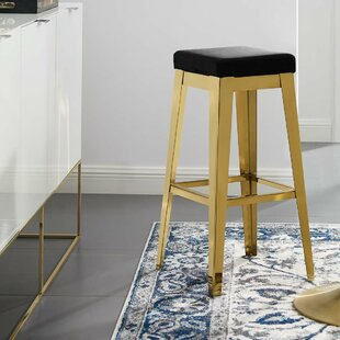Wilhelm 30.5 Bar Stool by Mercer41 Today Only Sale