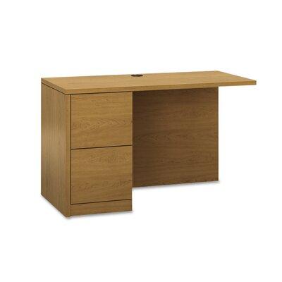 10500 Series 295 H x 48 W Desk Return HON Finish Harvest Location Left