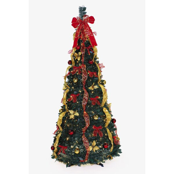 - Pop Up Lighted Christmas Tree Wayfair