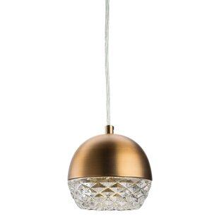 Nuevo Quartz 1-Light Globe Pendant