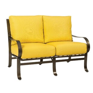 Woodard Cascade Loveseat with Cushions