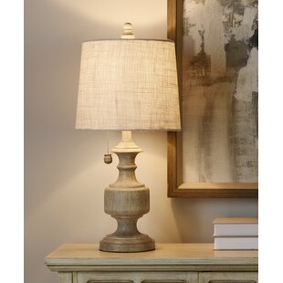 August Grove Clipper 25'' Table Lamp