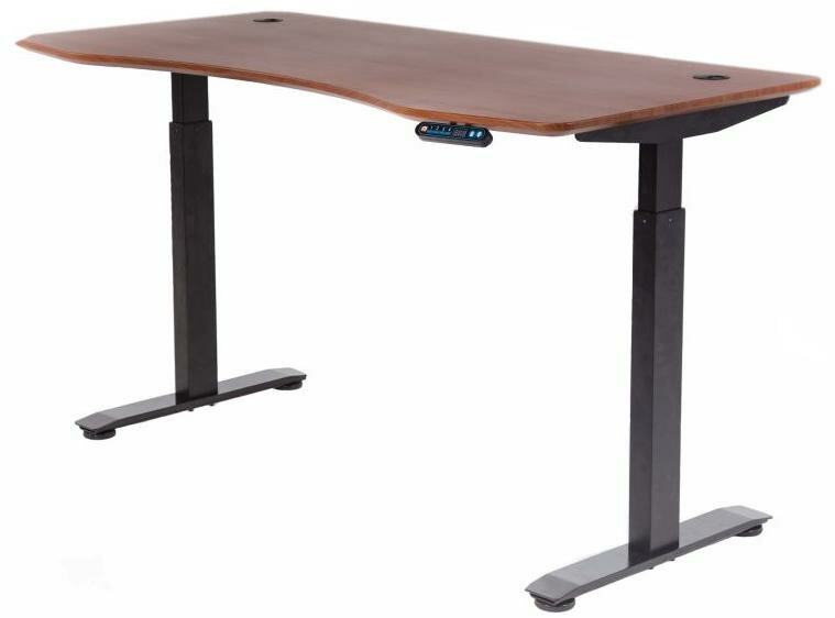 Motionwise Manager Height Adjustable Standing Desk Reviews Wayfair