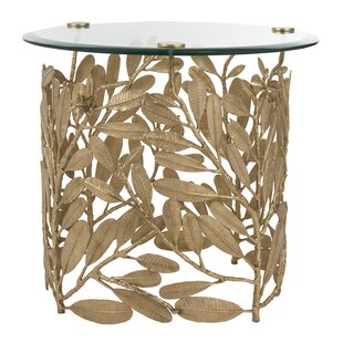 Deirdre End Table by Bloomsbury Market