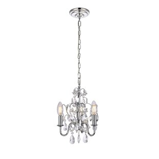 House of Hampton Dagnall 3-Light Candle Style Chandelier