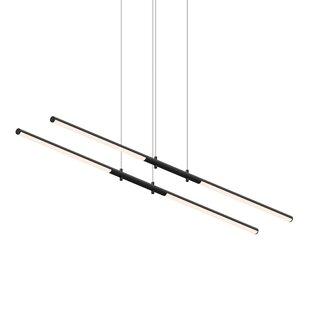 Tik-Tak Tandem 4-Light LED Pendant by Sonneman