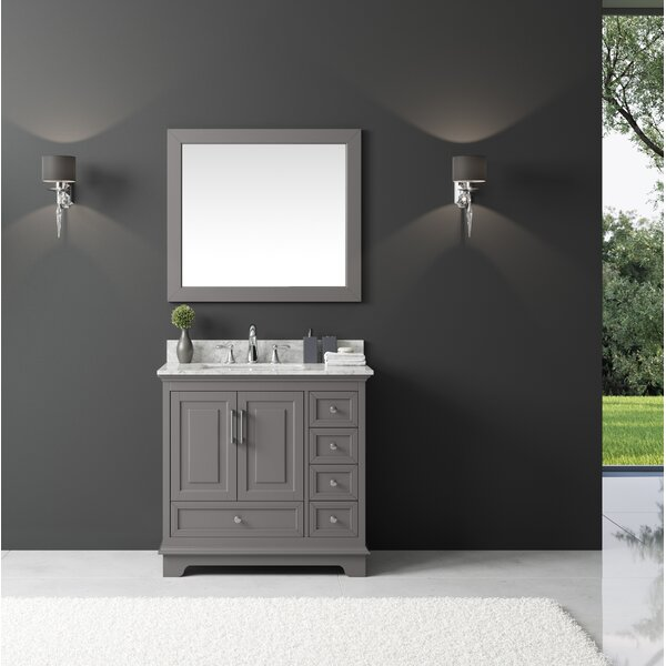 Rosecliff Heights Orin 36 Quot Single Bathroom Vanity Set With