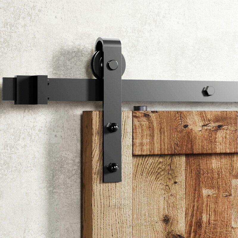 Vancleef Classic Design Standard Single Track Barn Door Hardware Kit Reviews Wayfair Ca