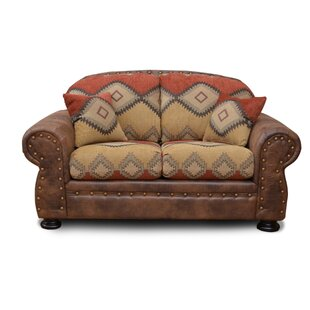 Blaze Standard Loveseat by Millwood Pines