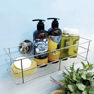 Candl 15.8cm X 40cm Bathroom Shelf By Spiderloc
